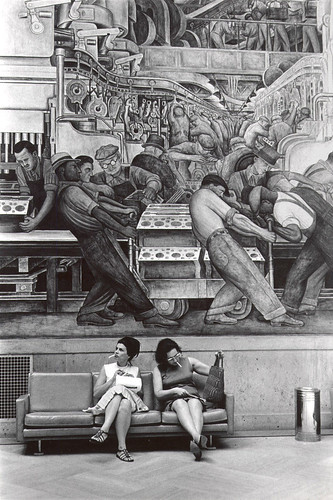 1932 ... mural- 'Detroit Industry' by x-ray delta one