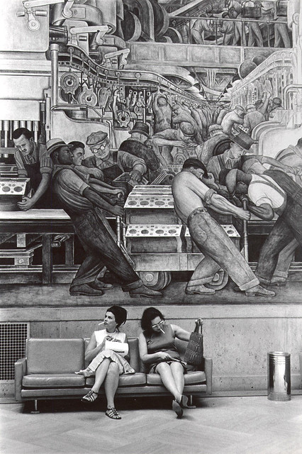 1932 mural 39 detroit industry 39 flickr photo sharing for Diego rivera detroit mural