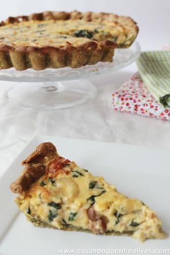 Tarta de espinacas y bacalao (15)
