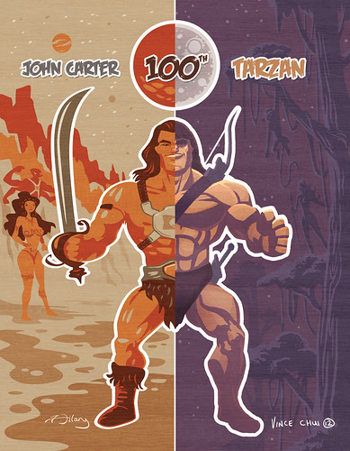 Happy 100th Tarzan & John Carter