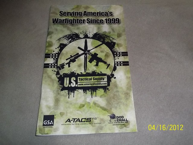 2012 US Tactical Supply Product Catalog