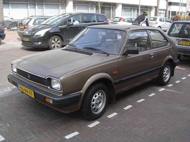 1983 Honda Civic | This is a Honda Civic from the second ...