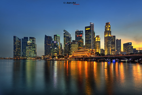Marina Bay | Sunset