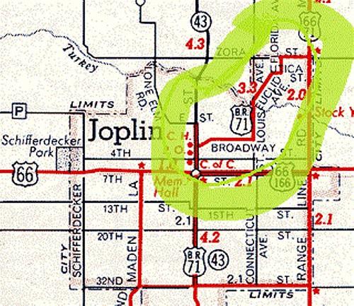 Historic Joplin Southwest Missouri Electric Railway
