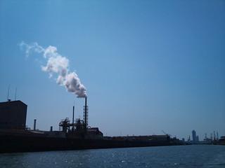 ドボク 工場の煙