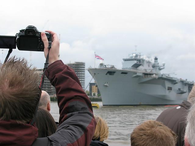 HMS Ocean Open Day