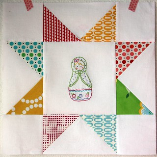 do. good stitches :: april, matryoshka block