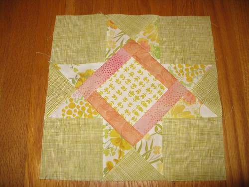 New Bee, block for April