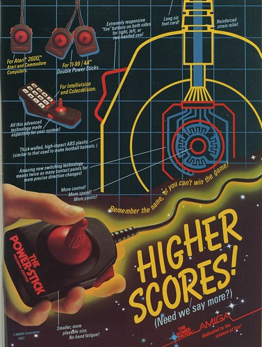 Higher Scores! The Power-Stick from Amiga