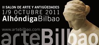 Cartel de la edición 2011 de ArteBilbao.