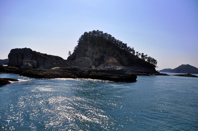 Rock Formations (in the waters close to Namdae-do)