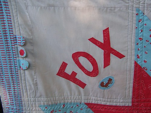 Quilt for Fox