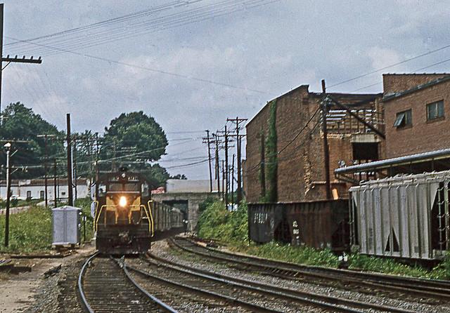 Seaboard train in Gree...