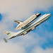 The last flight of The Enterprise Space Shuttle