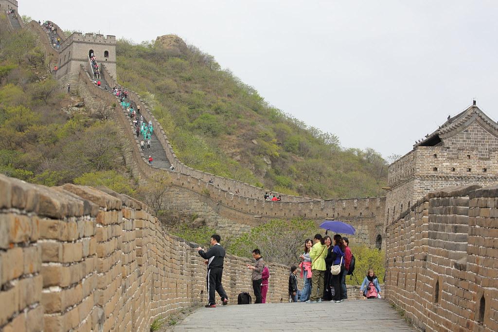 Great Wall at Mutianyu 万里の長城(慕田峪)