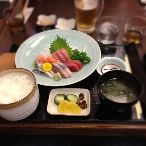 Sashimi gohan #japan #japon
