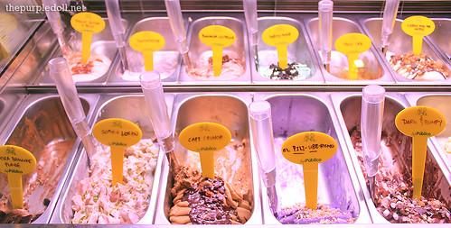 Cafe Publico Gelato Flavors