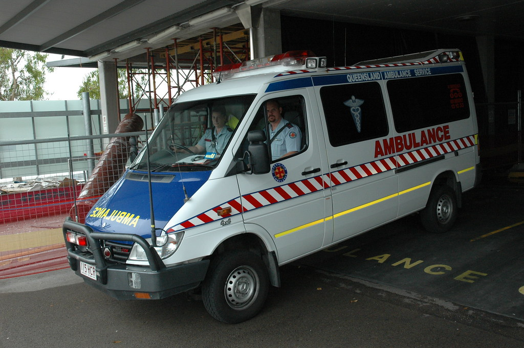 Queensland MB Sprinter Ambulance