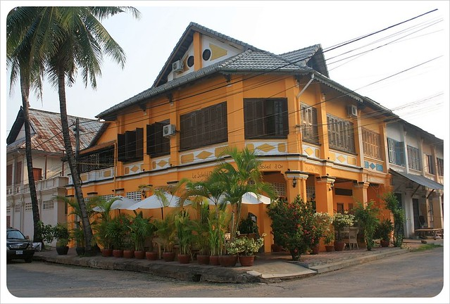 kampot french-colonial building