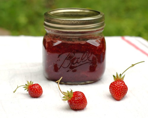 Strawberry jam by Eve Fox, Garden of Eating blog, copyright 2012