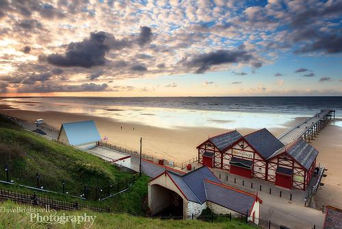 Saltburn Pier by Dave Brightwell