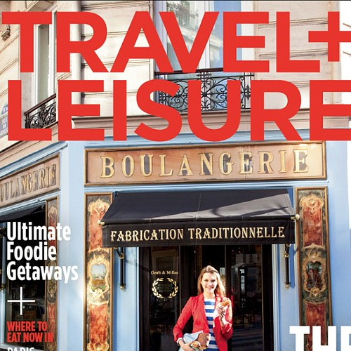Finally got the new Travel + Leisure - featuring photos by yours truly.