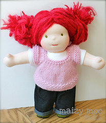 "Simple Vest for 15"" Dolls... a FFS Giveaway!!"