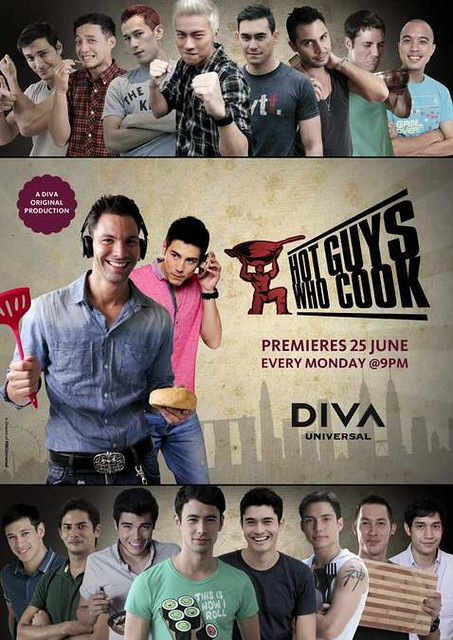 Diva Universal Asia Presents Hot Guys Who Cook