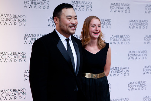 Chef/Owner David Chang of Momofuku Restaurants and Christina Tosi of Momofuku Milk Bar