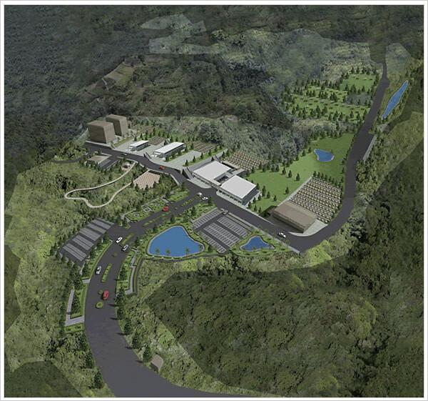 位於後龍龍坑里的山坡地保護區即將變身高級殯葬園區。(圖片來源:福祿壽殯葬園區BOO興建營運計畫網站)