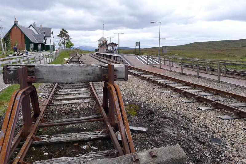 Tracks at Corrour