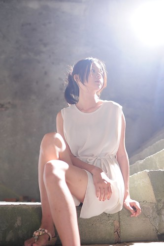 [フリー画像素材] 人物, 女性 - アジア, 台湾人, ワンピース・ドレス ID:201205170800