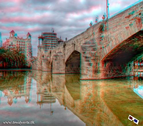 Pont de la Mar,Valencia 3D
