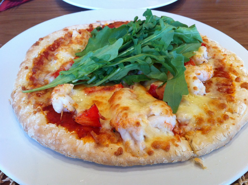 Langoustine (Lobster) Pizza