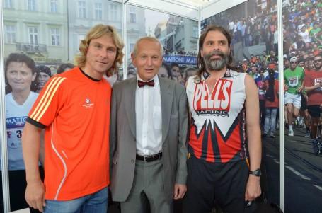 V cíli maratonu i muž se srdcem mladé ženy