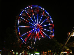 Ferris Wheel at night - 2012 Chasco Fiesta, New Port Richey Florida