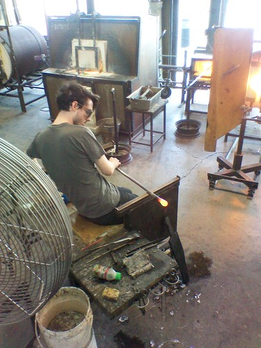 Glassblowing at the Harbourfront Centre (3)