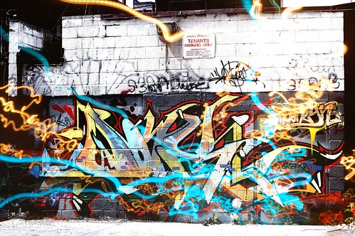 Justindartphotography.com - Fun Times in Toronto (20's and 30's) @ Toronto graffiti alleyway