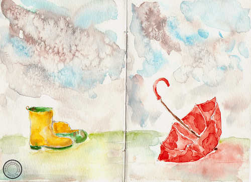sketchbook - rainy day 1