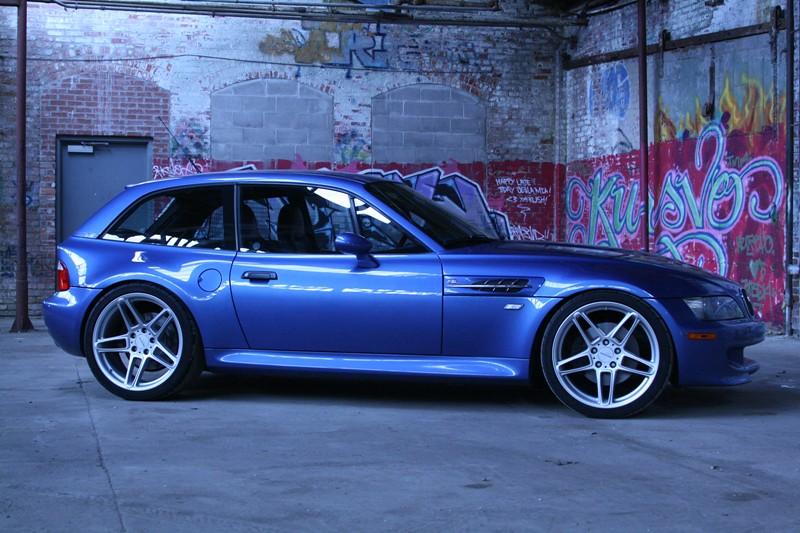 2001 M Coupe Estoril Blue Estoril Black Coupe