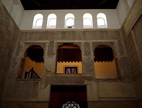 women tribune of Cordoba Synagogue