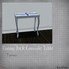 fucifino.union jack console table