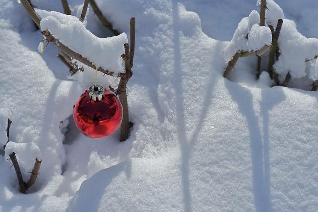 Nieve en el sur de Finlandia
