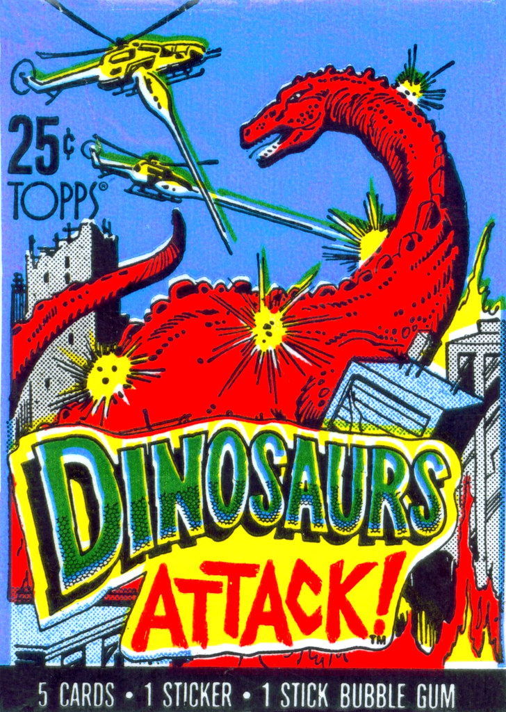 Dinosaurs Attack! Wrapper - 1