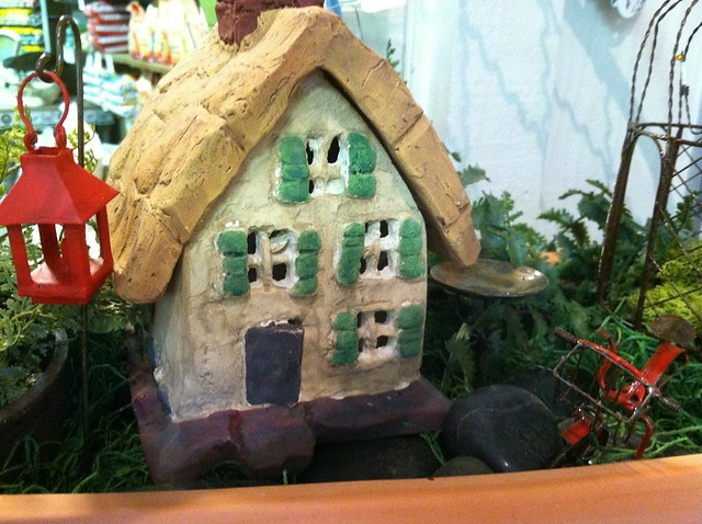 Fairy Garden house from Flickr via Wylio