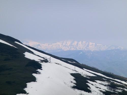 遠くのお山