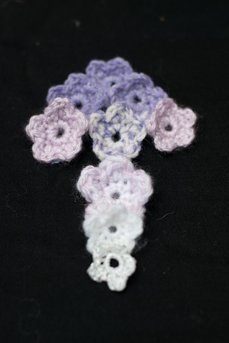 Experiments in flower crocheting