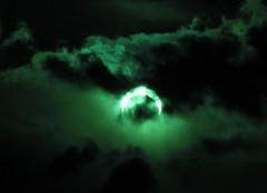 annular solar eclipse through clouds 2012