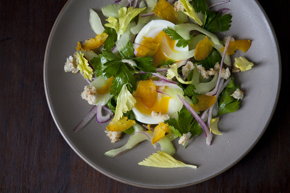 Bottarga Salad