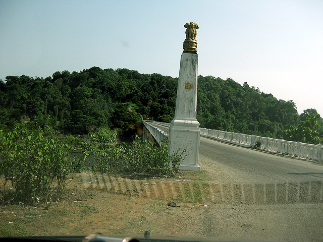 The bridge, on the way to Jog falls